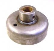 "Pressed Steel Block to suit 5"" 10swg round tube / 1"" steel shaft"